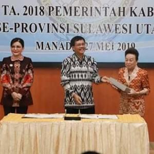 Sukses Raih WTP di Tahun 2019, Dinkes Minsel Apresiasi Bupati CEP-FDW1