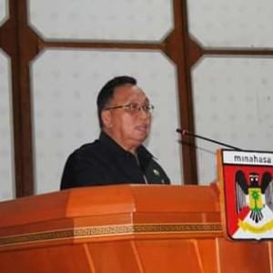 Wabup RD Hadiri Paripurna DPRD Penetapan Ranperda Tentang APBD 2018