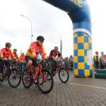 Wagub Kandouw Ikuti Jaya Sakti Fun Bike HUT Kodam XIII Merdeka ke-61
