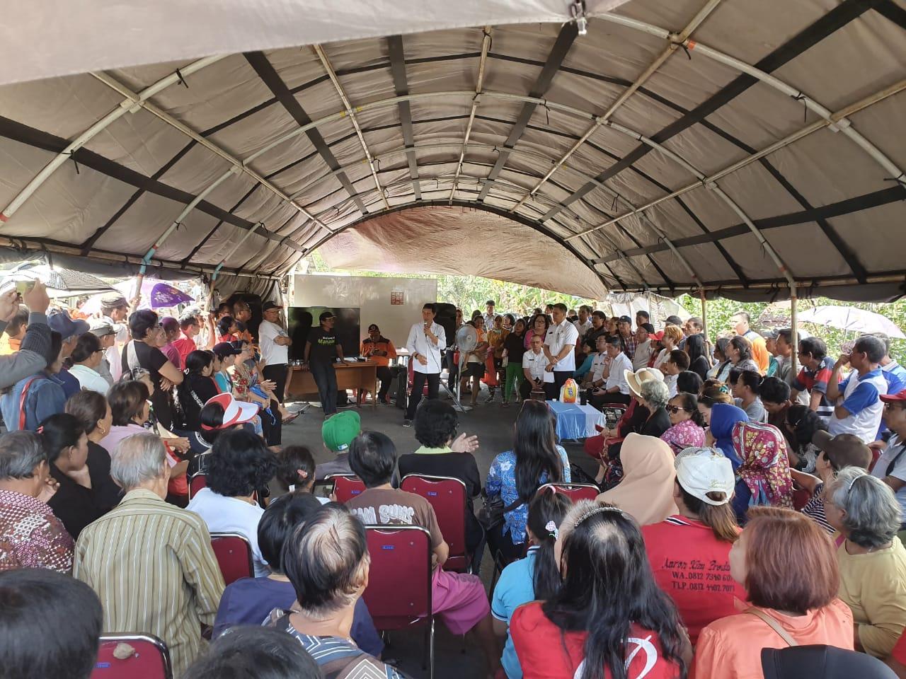GSVL Bersama Kepala BNPB RI Kunjungi Perumahan Korban Bencana 2014 di Pandu