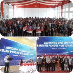 Dinsos Mitra Launching Bantuan Pangan Non Tunai, Kemensos Sediakan Untuk 9.073 Keluarga