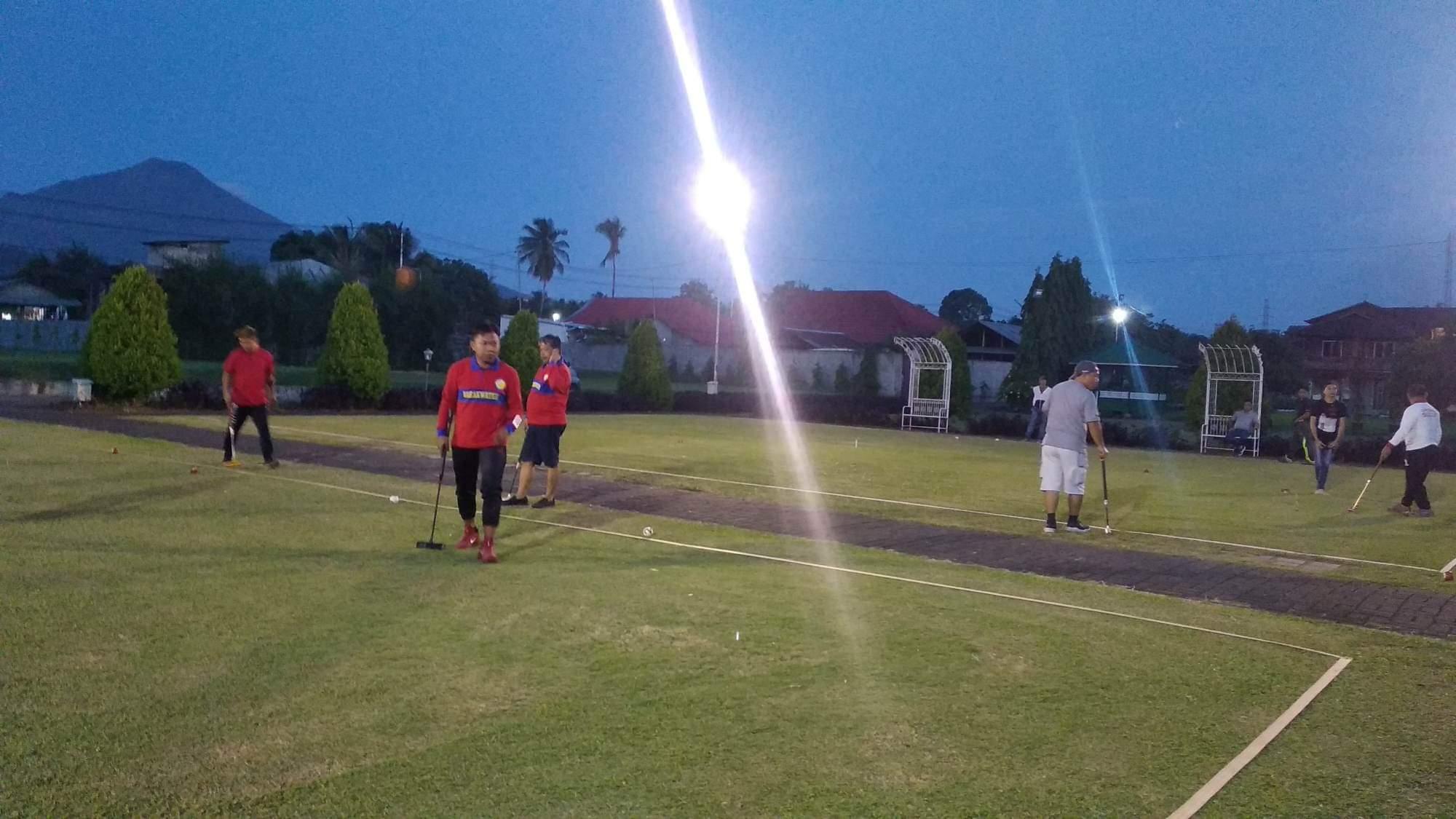 10 Tim Adu Skill di Pertandingan Gateball Menyambut HUT Kota Manado ke-396