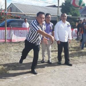 Wali Kota Tomohon membuka pertandingan olahraga HPR Wilayah Tomohon Satu