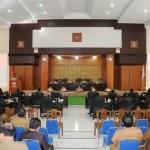 Eman Jelaskan Ranperda LP Pelaksanaan APBD 2018 kepada DPRD