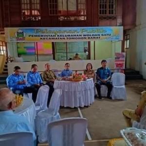 Tim Penilai bersama jajaran Pemerintah Kota Tomohon