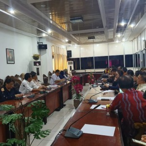 Kunker Komisi I DPRD Tomohon di DPRD Kota Balikpapan
