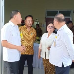 Wali Kota Tomohon, Sekretaris Kota, Kadis Kesehatan dan Direktur RSUD Anugerah