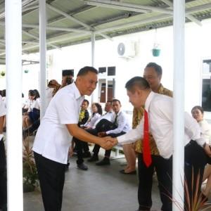 Wali Kota Tomohon dan Tim Penilai