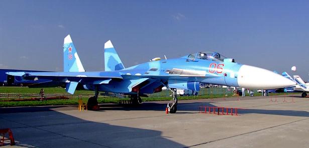Sukhoi Su-27 (foto: wikipedia)
