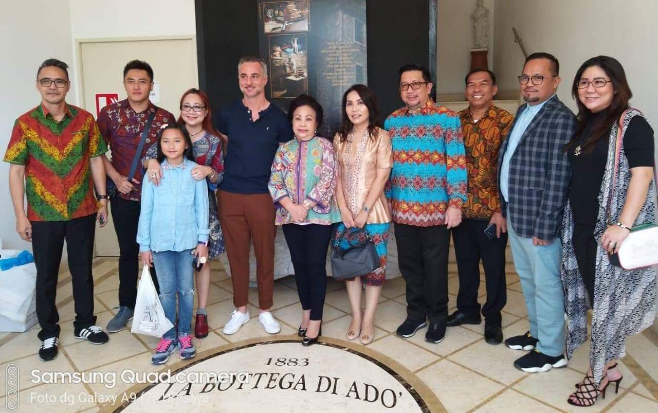 Gema Manado Fiesta 2019 Terdengar Sampai ke Roma, Italia