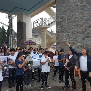 Wali Kota Tomohon melepas peserta Napak Tilas