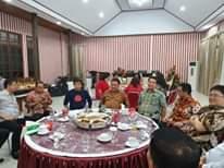 Bupati JS Bersama Gubernur OD Hadiri Open House Pengucapan Syukur di Rudis Bupati Minahasa