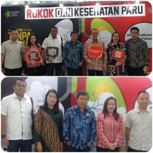 Bupati James Sumendap Hadiri Peringatan Hari Tanpa Tembakau Se-Dunia di Jakarta