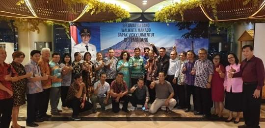 Hadiri Apeksi di Semarang, Wali Kota GSVL Sosialisasikan Manado Fiesta 2019