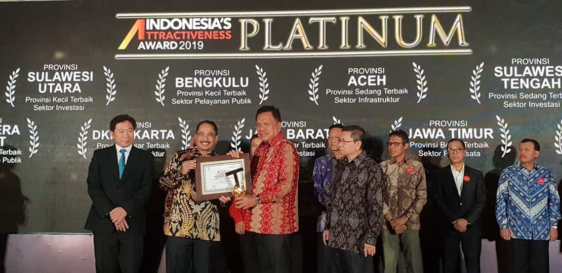 Indonesia's Attractiveness Award (IAA) 2019.