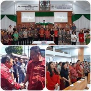 Gubernur OD Dan Bupati JS Kompak Pada Perayaan Pengucapan Syukur di Mitra
