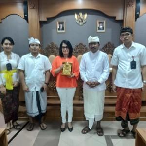 Kunker Bagian Kesra di Bali