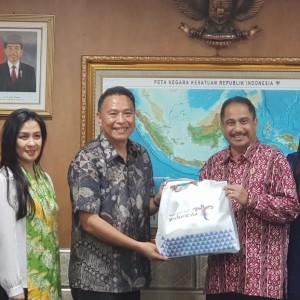 Menteri Pariwisata, Wali Kota Tomohon dan Ketua Umum Panitia TIFF