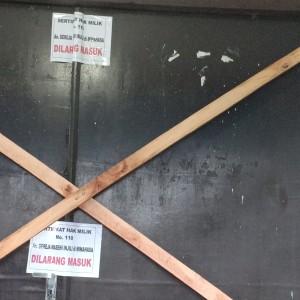 Pintu di YPTK dipalang BPMS GMIM