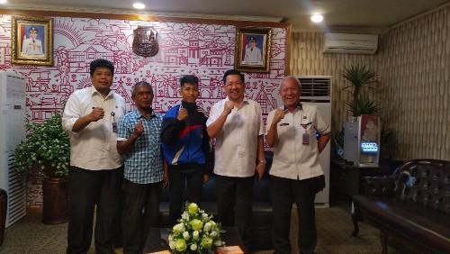 Wawali Mor Bertemu Atlet Binaan Pemkot Manado yang Berlaga di ASEAN School Games 2019