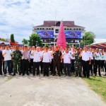 Calon Paskibraka Kota Manado 2019 Mulai Lakukan Latihan Perdana