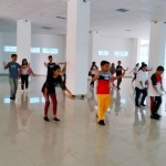 Tampilkan Tarian Kolosal di Manado Fiesta 2019, Ratusan Murid SMP Terus Lakukan Persiapan