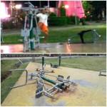 Alat Fitnes Milik Pemkot Manado di Lapangan Tikala Dirusak Orang Tak Dikenal