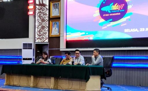 Wawali Mor Minta Seluruh Pengusaha Dukung Manado Fiesta 2019
