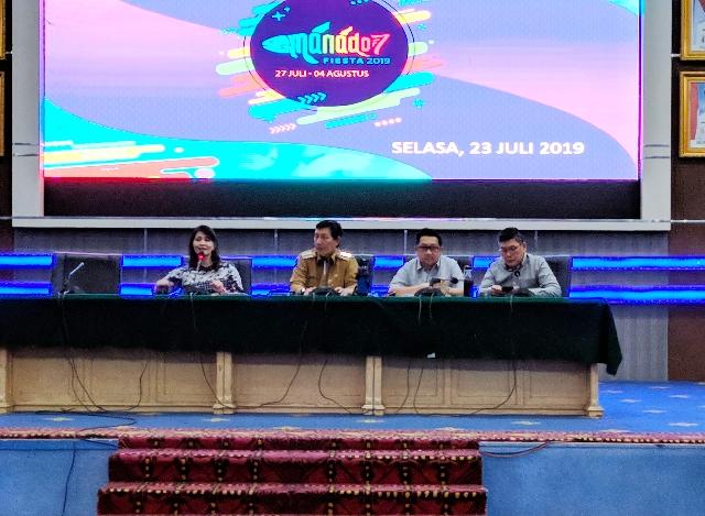 Rabu Besok Akan Digelar Gladi Kotor Kendaraan Hias Manado Fiesta 2019