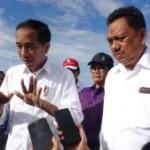 Presiden Jokowi : Feeling Gubernur Olly Bagus Sekali
