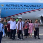 Tiba di Manado, Presiden Jokowi dan Ibu Negara Dijemput Olly dan Ketua TP PKK Sulut