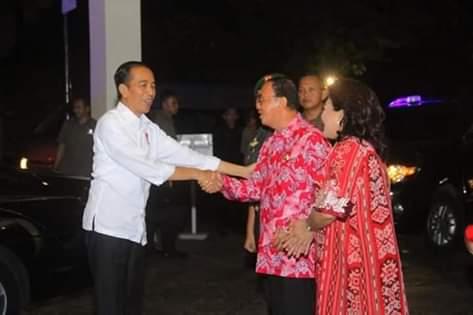 Kedatangan Presiden Ir Joko Widodo, Percepat Pembangunan di Minahasa