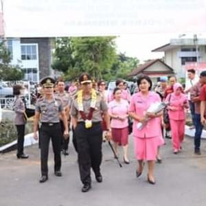 Kunjungi Polres Minahasa. Kapolda Minta Polisi Jangan Sakiti Masyarakat.