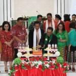 Olly Hadiri Ibadah Syukur dan Peresmian Pastori Jemaat GMIM Petra Poopoh