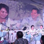 Hadiri Perayaan HUT Perkawinan ke-20 Keluarga Kandouw-Tanos, Olly: Semua Berkat Peran Dari Istri Yang Hebat