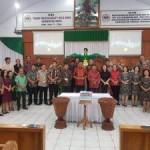 Hadiri Pengucapan Syukur Mitra, Olly Ibadah Bersama Jemaat GMIM Eben Haezar Molompar