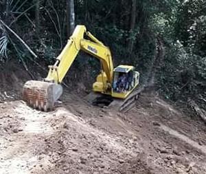Pembangunan Infrastruktur Perintisan Jalan Kebun Jadi Prioritas Dandes Toyopon Tahun 2019
