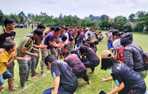 Lomba Olahraga Tradisional Dalam Rangka HUT Kota Manado Berlangsung Meriah