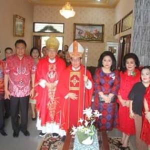 ROR Dampingi OD di Peresmian Gereja Katolik Maria Ratu Pencinta Damai Lolah