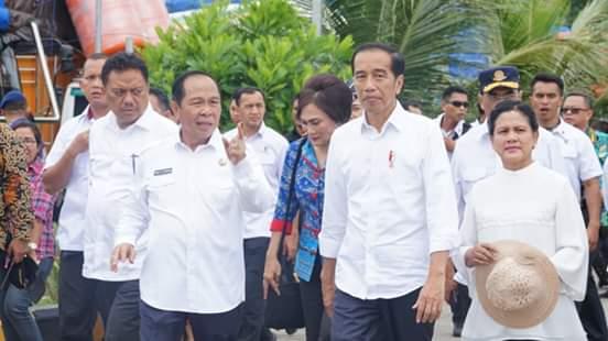 Presiden Jokowi: Seluruh Infrastruktur Penunjang KEK Bitung Segera Dibenahi