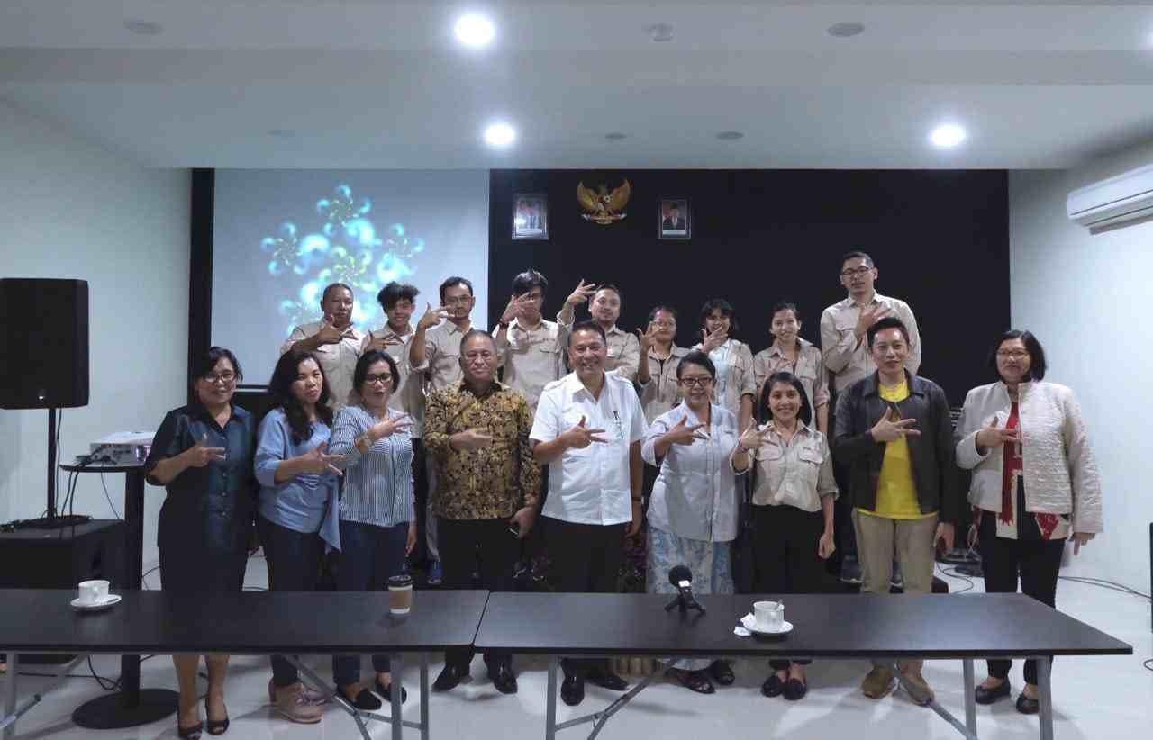 Wali Kota Tomohon dan jajaran bersama Tim Berkraf