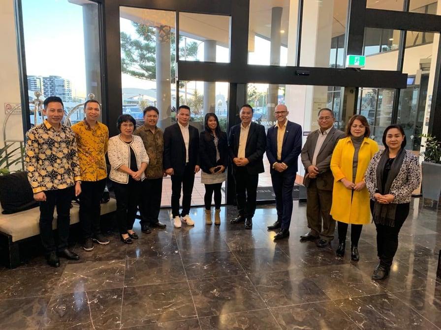 Delegasi Kota Tomohon di APCS Brisbane