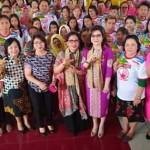 Bupati Minsel Buka Sosialisasi Gerakan Sayang Lansia dan Stop KDRT