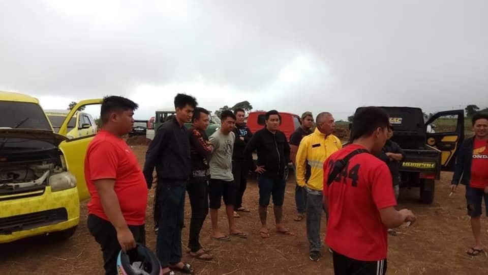 Ketua Tim Kerja Drs Tommy Kaunang meninjau Sirkuit Puncak Wawo