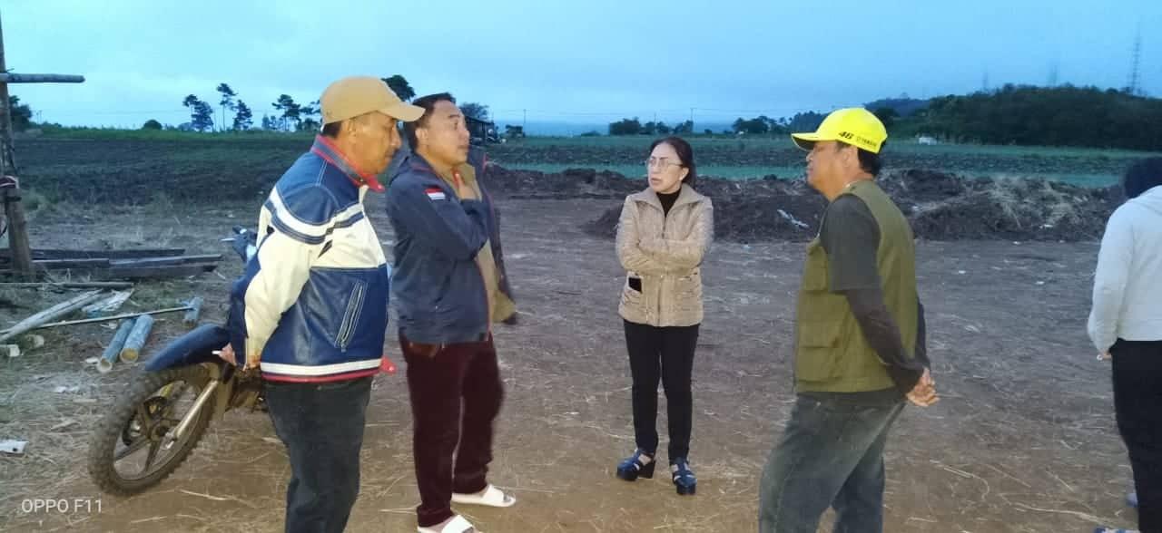 Ketua Panitia HUT ke-151 GMIM Imanuel walian Ir Miky JL Wenur MAP meninjau Sirkuit Puncak Wawo