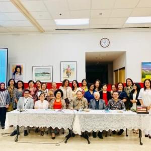 Warga Indonesia di LA yang mengikuti Sosialisasi Empat Pilar MPR-RI