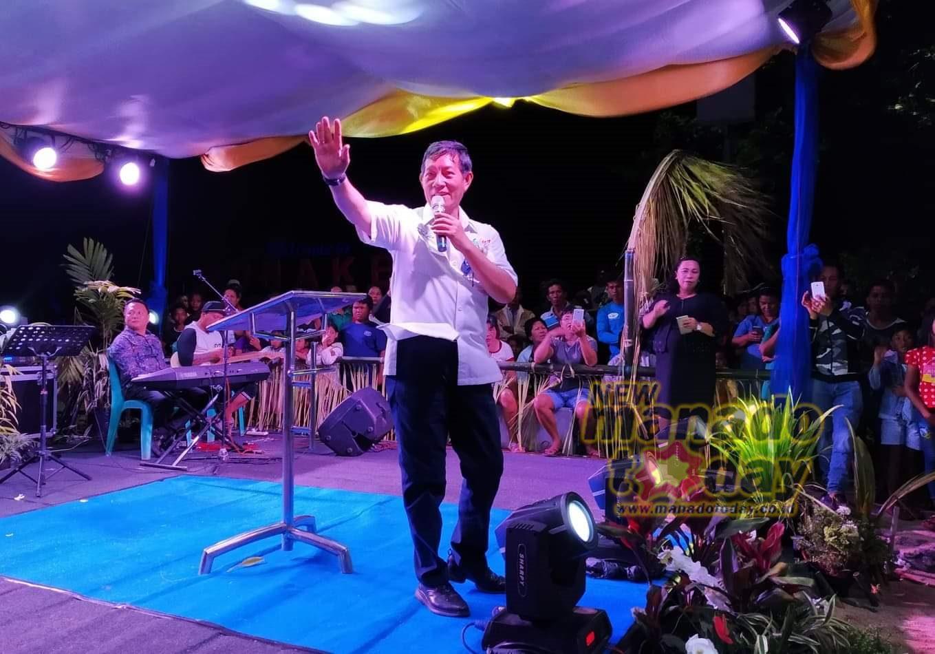 Wali kota saat membawakan sambutan