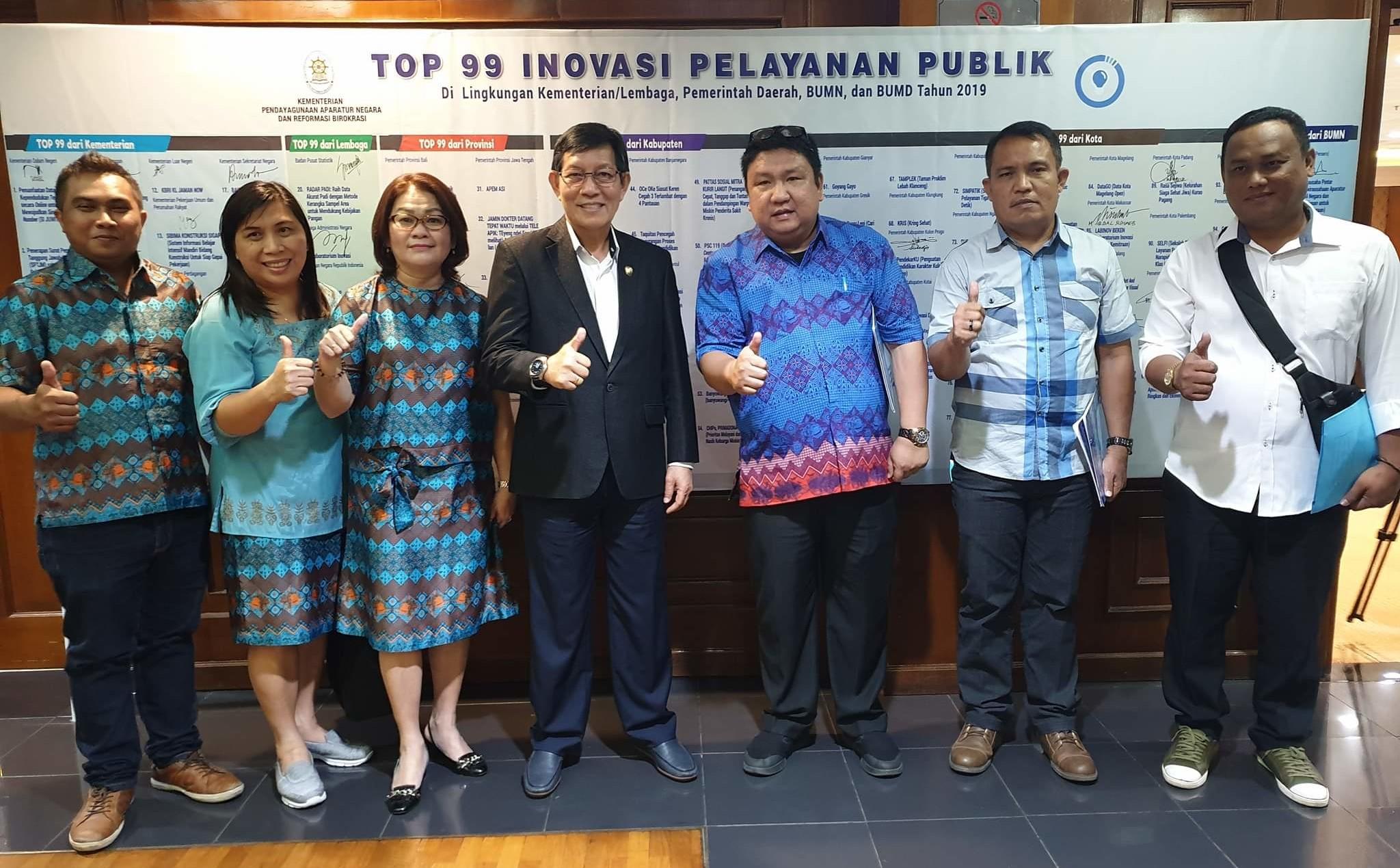 Kalahkan 3.000 Pesaing se-Indonesia, Wali Kota GSVL Presentasikan PANADA di Menpan-RB