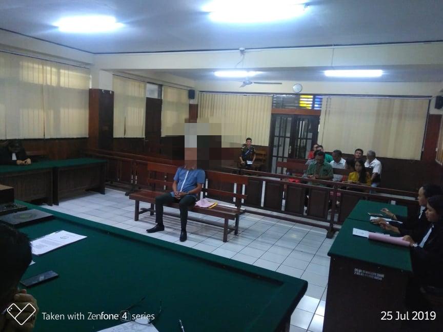Kasus Dugaan Korupsi PD Pasar Beriman Tomohon mulai disidangkan di Pengadilan Tipikir Manado