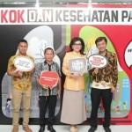 Bupati CEP Hadiri Peringatan Hari Tanpa Tembakau Sedunia di Jakarta